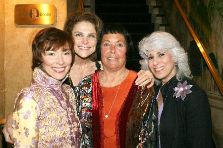 Karen Akers, Tovah Feldshuh, Keely Smith and Jamie DeRoy at Keely Smith Opens at the Cafe Carlyle