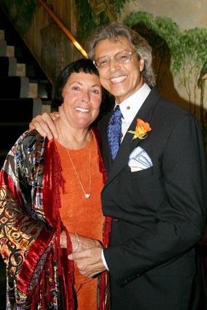 Keely Smith and Tommy Tune at Keely Smith Opens at the Cafe Carlyle