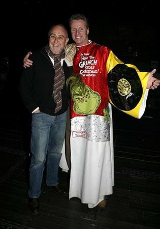 Claude-Michel Schönberg and Brian O'Brien at The Pirate Queen Gypsy Robe Ceremony