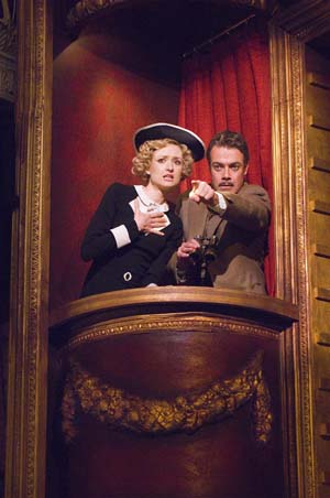 Rachel Pickup and Robert Portal at London's '39 Steps' Welcomes New Stars