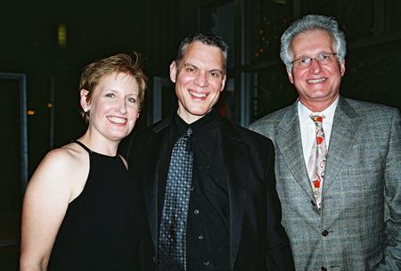 Liz Callaway. Steven Blier (Musical Director) and Jack Viertel at NYFOS Johnny Mercer Concert