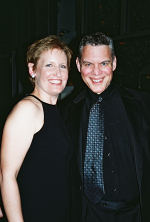 Liz Calloway and Steven Blier at NYFOS Johnny Mercer Concert