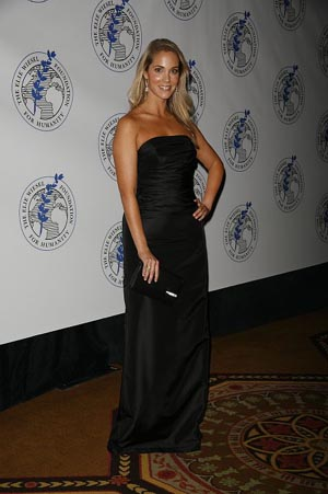 Elizabeth Berkley at Elie Wiesel Foundation Humanity Dinner