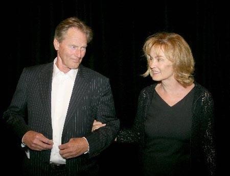Sam Shepard and Jessica Lange at Wynn Handman Birthday Celebration