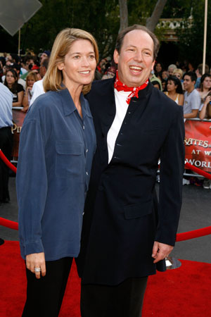 Composer Hans Zimmer and wife Suzanne Zimmer at  'Pirates of the Caribbean' 3 Premiere