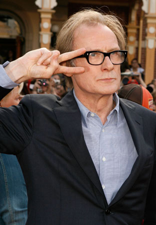 Bill Nighy at  'Pirates of the Caribbean' 3 Premiere