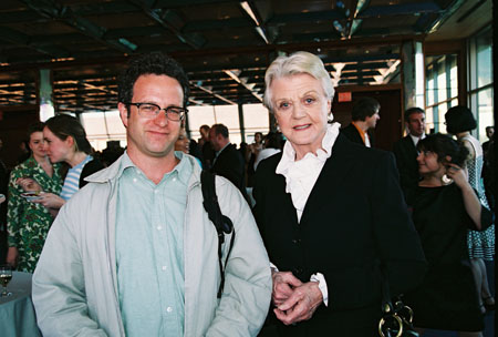 Greg Kotis and Angela Lansbury