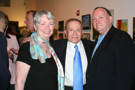 Marie Buckley, Jerry Herman and Michael Buckley at Jerry Herman Words & Music Preview Screening