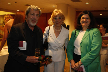 Tony Walton, Margot Astrachan and Deidre Gagion at York Theatre Company's NEO3 Concert