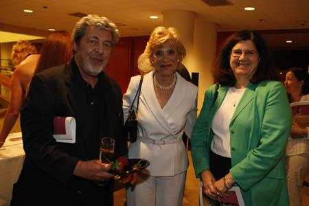 Tony Walton, Margot Astrachan and Deidre Gagion at York Theatre Company's NEO3 Concert