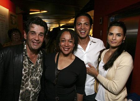 Alan Rosenberg, S. Epatha Merkerson, Benjamin Bratt and wife Talisa Soto at  'Little Sheba' Opens at Kirk Douglas