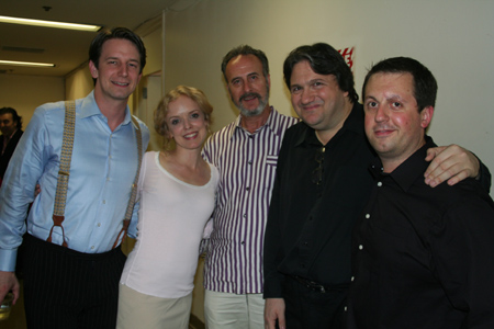 Edwin Cahill, Nancy Anderson, Gerry Wade, James Bassi and Jay Mack at York Theatre Company's I and Albert