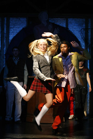 Jon Balcourt, Courtney Ellis, Roy George and Nikita Richards at Idol: The Musical