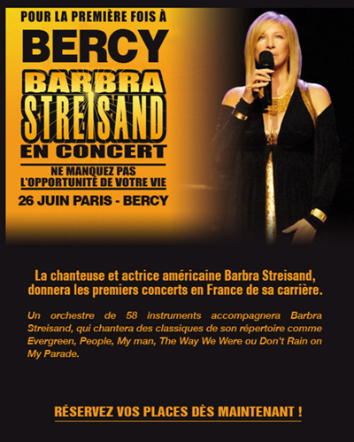 BWW Exclusive: Barbra Streisand European Tour 2007 Scrapbook