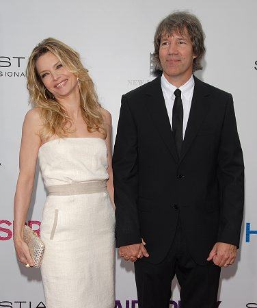 Michelle Pfeiffer and David E. Kelley at Hairspray Film Premieres in L.A.