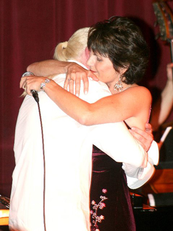 Rob Abel and Lucie Arnaz at Ron Abel at Birdland