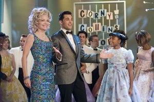 Michelle Pfeiffer and James Marsden at New Line's 'Hairspray' Nonstop Fun
