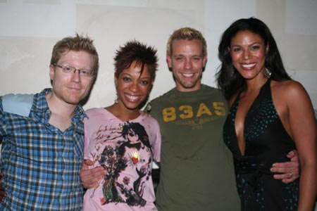 Photo Coverage FLASHBACK: 'RENT' Welcomes Back Rapp and Pascal