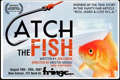 NY Fringe Festival Special: CATCHING THE FISH with Kristin Hanggi and John Davisi