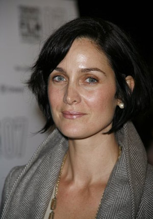Carrie-Anne Moss at 'The Jane Austen Book Club' Toronto Premiere