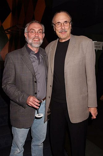 David Van Asselt and Arthur Kopit at Rattlestick Playwrights 13th Anniversary Gala