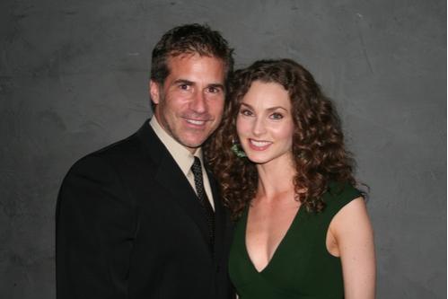 Richie Herschenfeld and Alicia Minshew