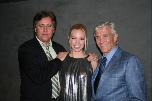 Michael E. Knight, Liza Huber and David Canary