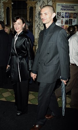 Debi Mazar and husband at 'The Ritz' Opening Night Arrivals