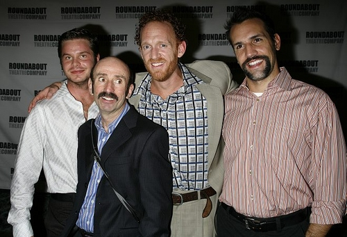 Nick Mayo, Patrick Kerr, Mark Leydorf and Matthew Montelongo