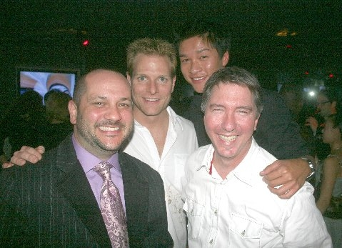 Carl White (Stage Producer), Jaymes Hodges, Ethan LePhong and Kirkland Tibbles