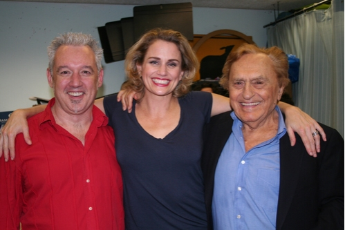 David Glenn Armstrong, Cady Huffman and Joseph Stein at 'The Body Beautiful' at York Theatre