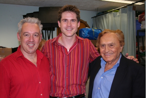 David Glenn Armstrong, Jim Sorensen and Joseph Stein at 'The Body Beautiful' at York Theatre