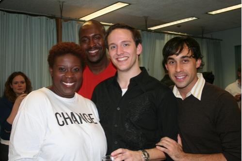 Capathia Jenkins, John Eric Parker, John Bell (Musical Director) and Ryan Duncan