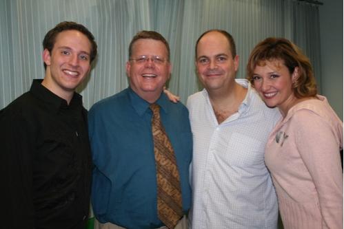 John Bell, James Morgan, Brad Oscar and Laura Marie Duncan