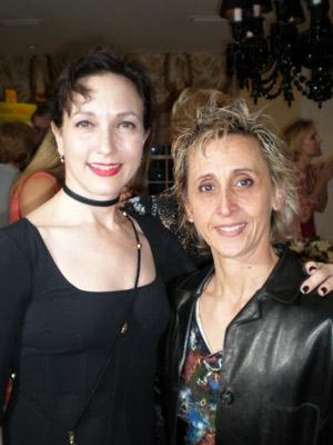Bebe Neuwirth with producer director Ann Marie De Angelo