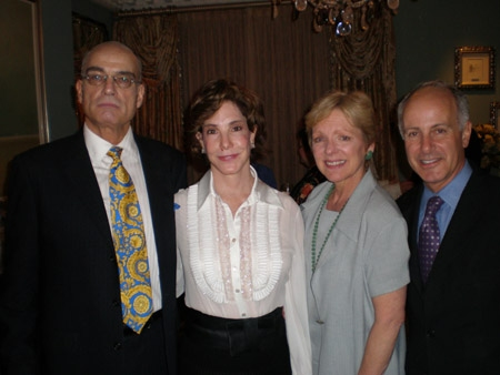 CTFD executive director Alex Dube, Diane Glazer and Mary Lou We