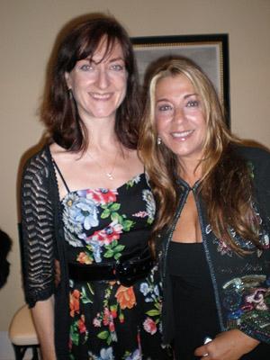 Amy Lehman and Francesca De Josia
