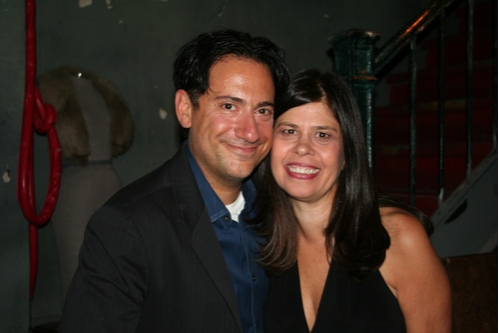 Eugene Pack (Creator/Producer/Performer) and Dayle Reyfel (Producer/Performer) Photo