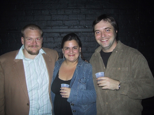 I Used To Write On Walls producer Jared Culverhouse, and co-directors Diana Basmajian and Isaac Byrne