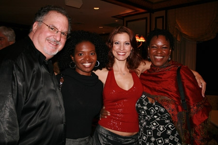 Eugene Gwozdz (Musical Director/Pianist), LaChanze, Rachel York and Kecia Lewis-Evans