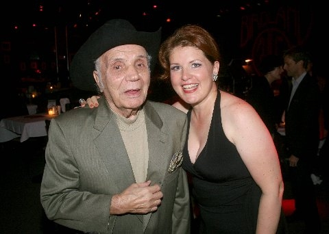 Jake LaMotta and Klea Blackhurst