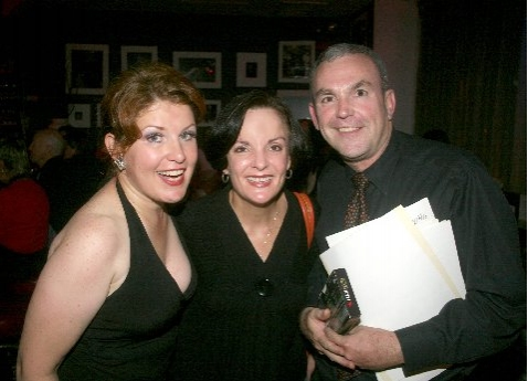 Klea Blackhurst, Jennifer Smith and Michael Rice (Musical Director)