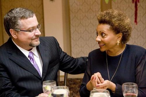 Michael Bush and Leslie Uggams Photo