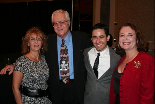 Joanne Williams, Pat Cooper, John Lloyd Young and Randie Levine-Miller