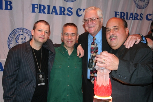 Friar Comedians Jim Norton, Gilbert Gottfried, Pat Cooper and Jeff Pirrami  at Friars Club Roast Pat Cooper