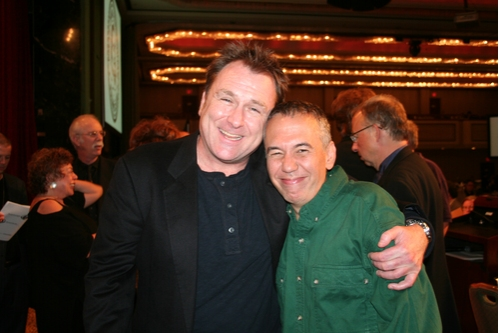 Comedian Colin Quinn and Gilbert Gottfried