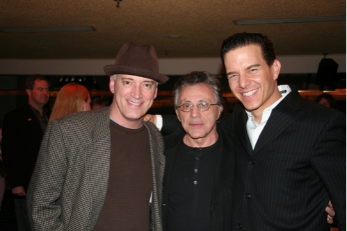 Donni Kehr, Franki Valli and Christian Hoff