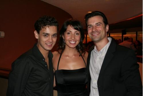 Michael Longoria, Sonia Iannetti and Dominic Nolfi