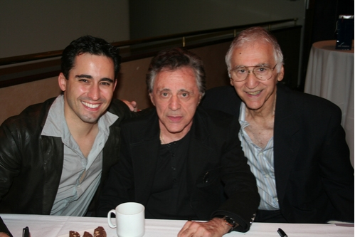 John Lloyd Young, Frankie Valli and Joe Long
