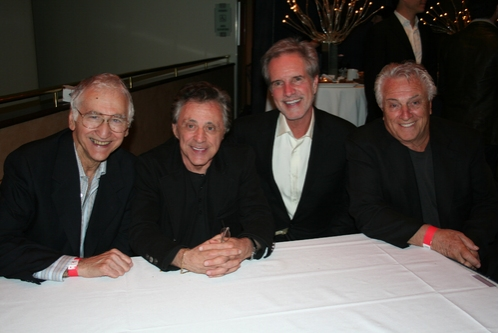 Joe Long, Frankie Valli, Bob Gaudio and Tommy DeVito Photo